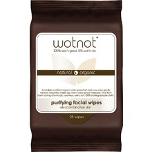 Wotnot Purifying Facial Wipes Oily/Combination Skin 25