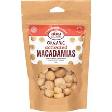 2Die4 Live Foods Organic Activated Macadamias - 120g