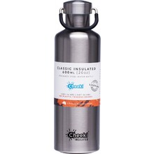 Cheeki Stainless Steel Bottle Insulated - Silver 600ml