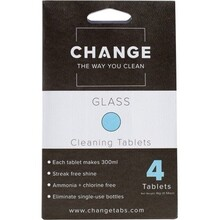 Change Cleaning Tablets Glass - 4 Tabs