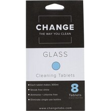 Change Cleaning Tablets Glass - 8 Tabs