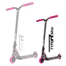 Root Industries - Complete Scooter - Type R Mini - Splatter - Pink / White