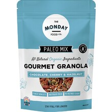 The Monday Food Co Paleo Granola Chocolate, Cherry & Hazelnut 800g