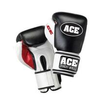 Ace Elite Leather Boxing Gloves