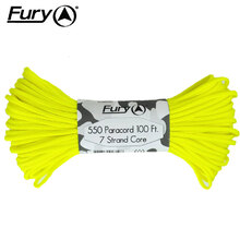 Fury Neon Yellow Paracord