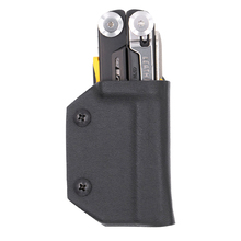 Clip & Carry Kydex Sheath for the Leatherman Signal - Black Clam