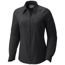 Columbia Women's Silver Ridge Long Slve Shirt Black
