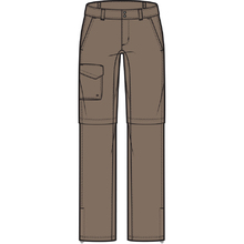 Columbia Womens Silver Ridge Convertible Pants - Truffle