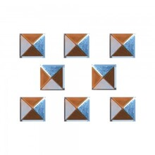 Anticorp Square Alloy Studs