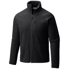 Columbia Mens Fast Trek II Full Zip Fleece Jacket - Black