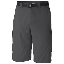 Columbia Mens Silver Ridge Cargo Shorts - Grill