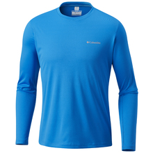 Columbia Mens Zero Rules Long Sleeve Shirt - Hyper Blue