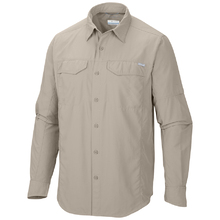 Columbia Mens Silver Ridge Long Sleeve Shirt - Fossil