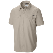 Columbia Mens Silver Ridge Shorts Sleeve Shirt - Fossil