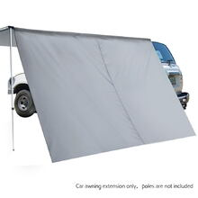 Car Shade Awning Extension 3 x 2M - Grey