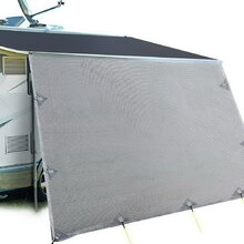 Weisshorn Caravan Roll Out Awning 4.9 x 1.8m - Grey