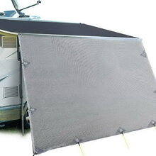 Caravan Roll Out Awning 5.2 x 1.8M - Grey