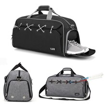 Outdoor Sports Gym Bag Multifunction Fitness Shoulder Bag With Shoes Pocket Travel Yoga Handbag