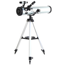 Performance 700-76 Reflector Astronomical Telescope Reflector Beginner Telescope with Tripod and Eyepieces Dual Purpose Telescope
