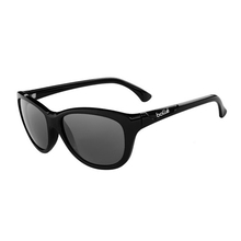 Bolle Greta Shiny Black Woman Sunglasses Pol TNS