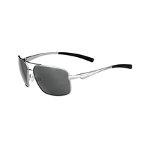 Bolle Brisbane Shiny Silver Adult Sunglasses Pol TNS