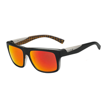 Bolle Clint Matte Black/Orange Adult Sunglasses Pol TNS Fire