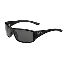 Bolle Kingsnake Shiny Black Adult Sunglasses Modulator Pol Grey