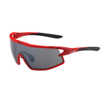 Bolle B-Rock Matte Red/Black Adult Sunglasses TNS Gun
