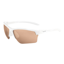 Bolle Flash Matte White Adult Sunglasses Mod V3 Golf