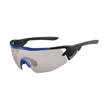 Bolle Aeromax Matte Black/Blue Adult Sunglasses TNS Gun