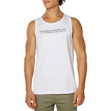 Ocean & Earth Mens Priority Singlet - White