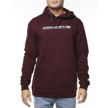 Ocean & Earth Big Mens Priority Hoodie - Burgundy