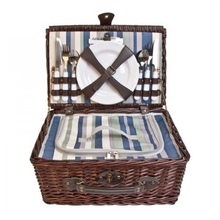 Companion Picnic Cooler Basket for Four