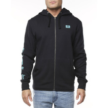 Ocean & Earth Big Mens Stoke Zip Hoodie - Black