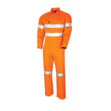 Lightweight Coveralls With 3M Tape - Orange