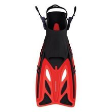 Mirage Junior Gold Series Crystal Fins Red