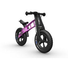 FirstBIKE FAT Cross WITH BRAKE - Pink