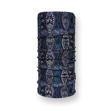 FIND Adult Tube Neckwear Tribal Blue Pattern