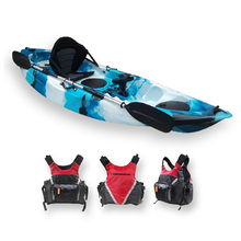FIND™ Stealth 2.7 Single Fishing Kayak Ice Camo Including PFD Life Vest