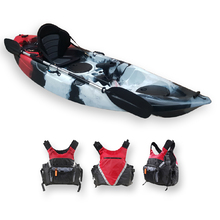 FIND™ Stealth 2.7 Single Fishing Kayak Killer Camo Including PFD Life Vest