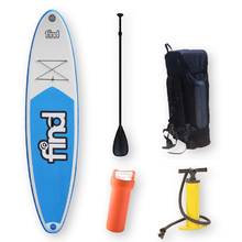 "FIND™ 11'2"" Techlite DUO Inflatable ISUP Stand Up Paddle Board"