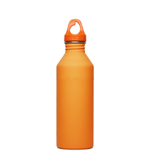 Mizu M8 Soft Touch Hydration Bottle 27oz (800ml) - Orange (No Logo)