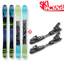 Five Forty Snow Skis Reverse Rocker Sidewall with Tyrolia SP AC 7.5 Binding