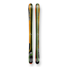 Five Forty Snow Skis Park Black/Green Camber Sidewall 145cm