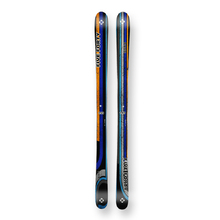 Five Forty Snow Skis Park Blue/Orange Camber Sidewall 155cm