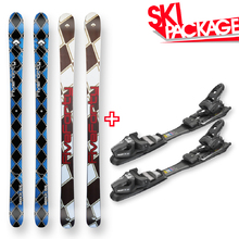Five Forty Snow Skis Beach Camber Sidewall with Tyrolia SP AC 7.5 Binding