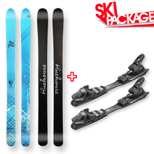 Bluehouse Snow Skis Camber Sidewall with Tyrolia SP AC 7.5 Binding - 176cm