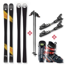 FIND™ Carve Capped Skis 153cm with Binding, Boots, Poles Package