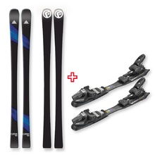 FIND™ Carve Capped Skis 168cm with Binding Package