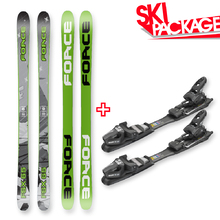 FORCE FSX Sidewall Skis 165cm with Binding Package